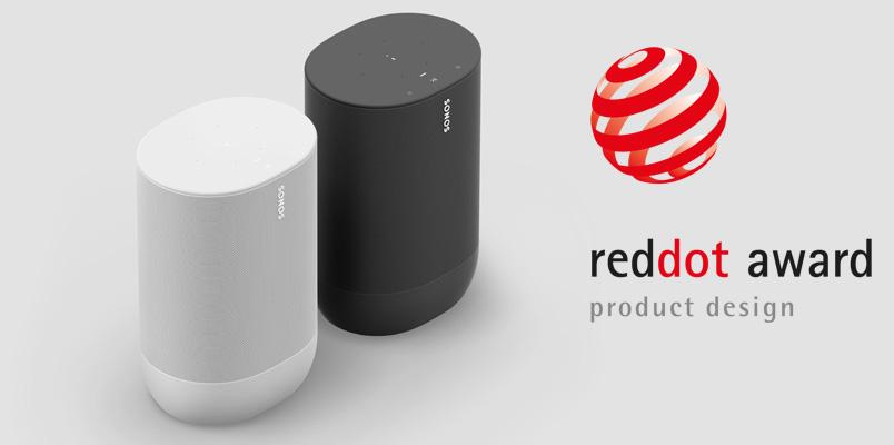 Sonos reconocido con dos Red Dot Award: Product Design 2020