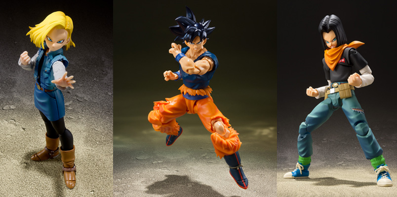 Tamashii Nations figuras Dragon Ball