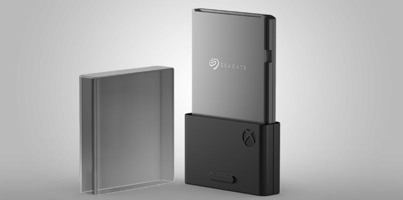 La tarjeta de expansión de memoria de Seagate para Xbox Series X
