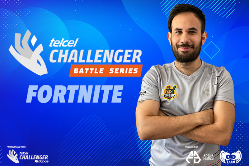 Telcel Challenger Battle Series con Fortnite