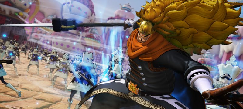 Vinsmoke Judge One Piece Pirate Warriors 4
