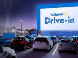 Walmart Autocinemas