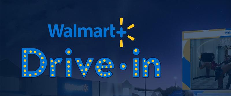 Walmart Drive-in autocinemas