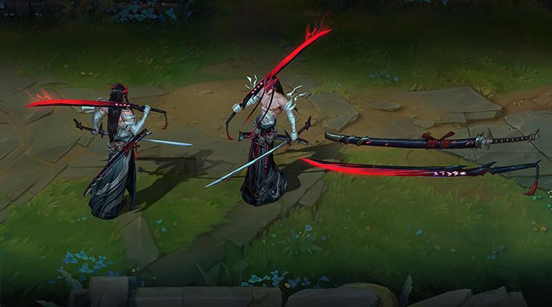 Yone espadas
