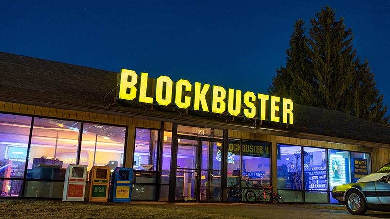90 pesos la noche en el último Blockbuster de Estados Unidos