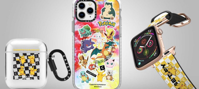 CASETiFY y The Pokemon Company 2020