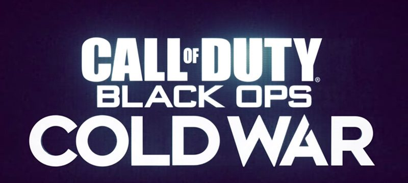 Call of Duty Black Ops Cold War logo teaser