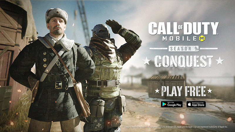 Call of Duty Mobile Temporada 9 Conquest