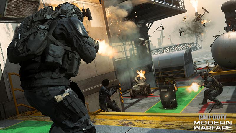 Call of Duty Modern Warfare Temporada Cinco Petrov Oil Rig