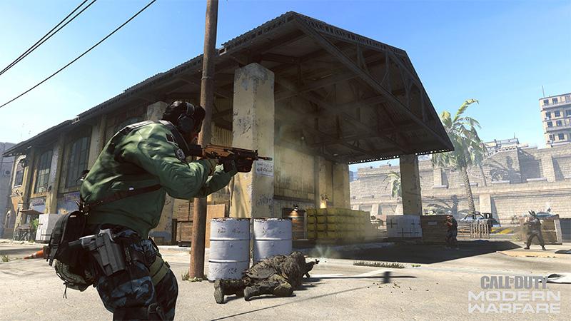 Call of Duty Modern Warfare Temporada Cinco Suldal Harbor
