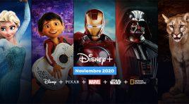 Disney+ llega en noviembre y ya tiene más de 60 millones de usuarios