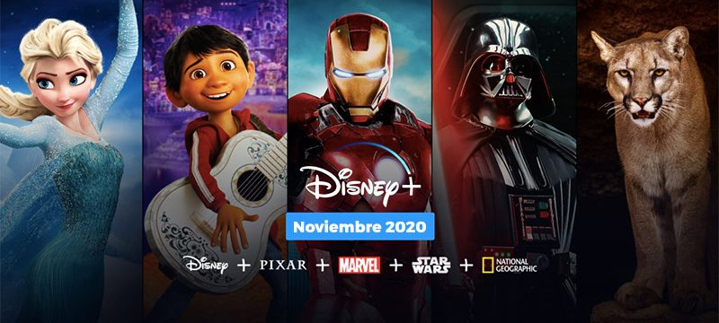 Disney Plus Mexico 2020