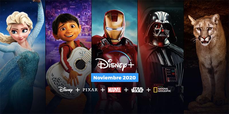 Disney Plus Mexico 2020