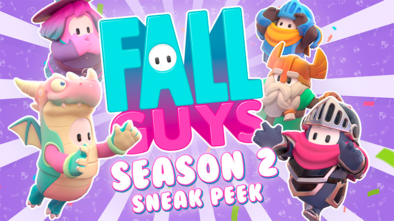 Fall Guys Temporada 2 traerá diversión, disfraces, emotes y más