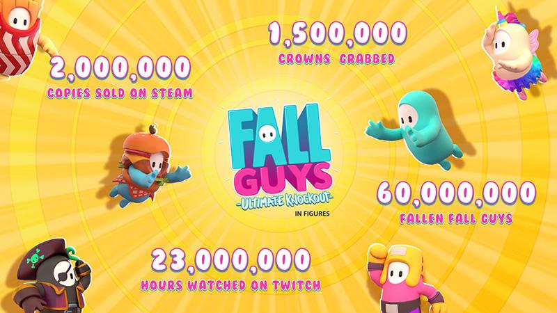 Fall Guys Ultimate Knockout datos