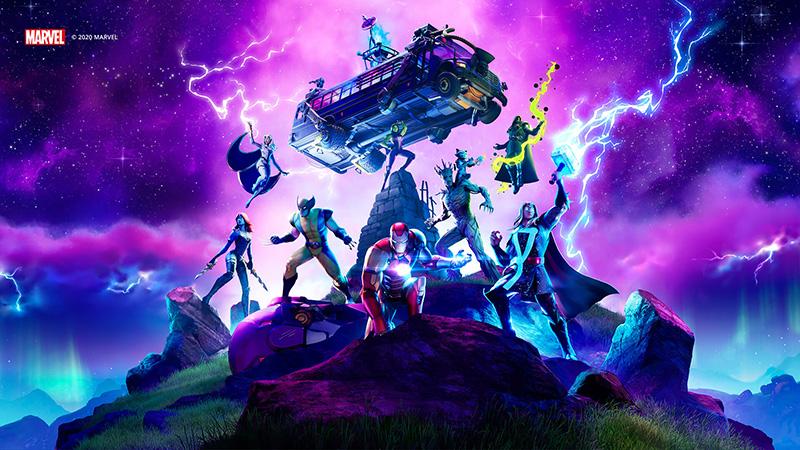 Fortnite Capítulo 2 Temporada 4 Guerra en el Nexus