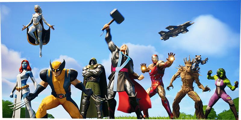 Fortnite: Capítulo 2 – Temporada 4 trae a los superhéroes de Marvel