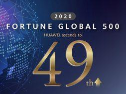 Fortune Global 500 Huawei 2020