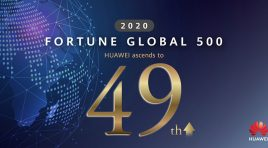 Huawei entre los 50 mejores del ranking Fortune Global 500