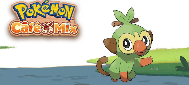 Grookey Pokemon Cafe Mix
