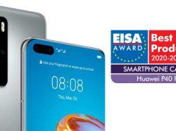 Huawei P40 Pro EISA
