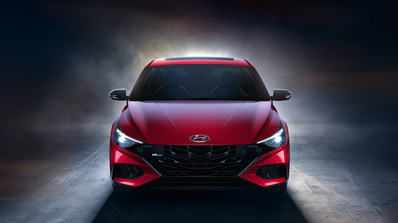 Hyundai Elantra N Line frente