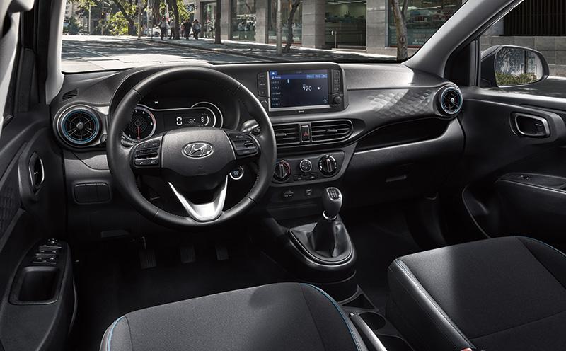 Hyundai Grand i10 2021 interior