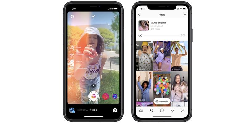 Instagram Reels es la apuesta de Facebook contra TikTok
