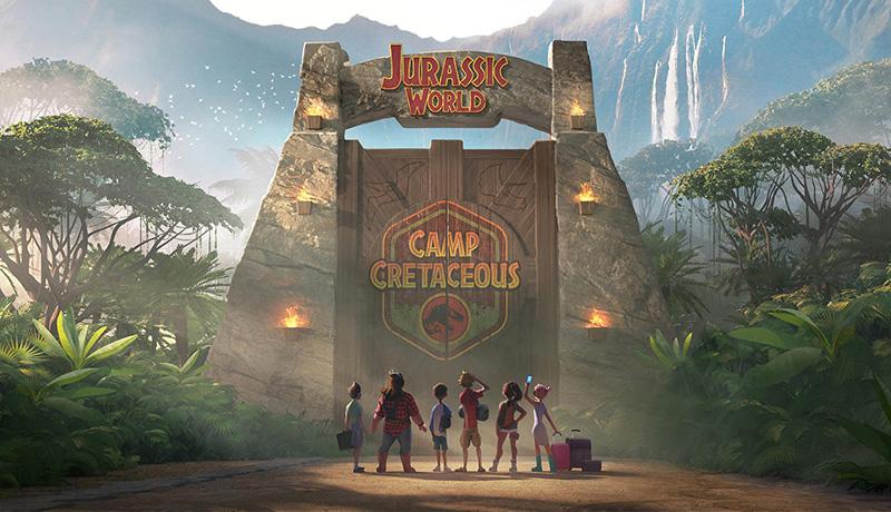 El nuevo avance de Jurassic World Campamento Cretácico