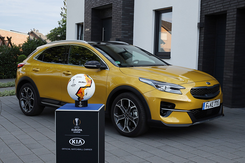 La experiencia virtual de KIA en la final de la UEFA Europa League