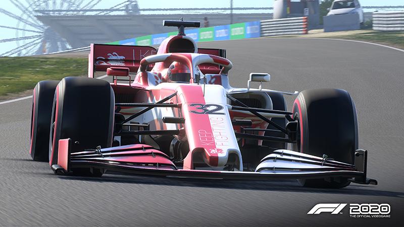 El monoplaza de Keep Fighting Foundation para F1 2020