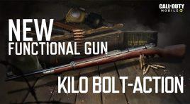 Kilo Bolt-Action será gratis en Call of Duty: Mobile: Season 9: Conquest