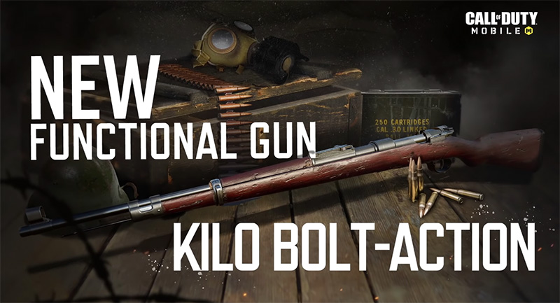 Kilo Bolt-Action será gratis en Call of Duty: Mobile: Season 9: Conquest