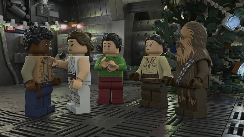 LEGO Star Wars especial navideno