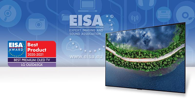 EISA: LG Electronics es líder en categorías de audio y video