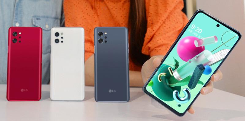 LG Q92 colores
