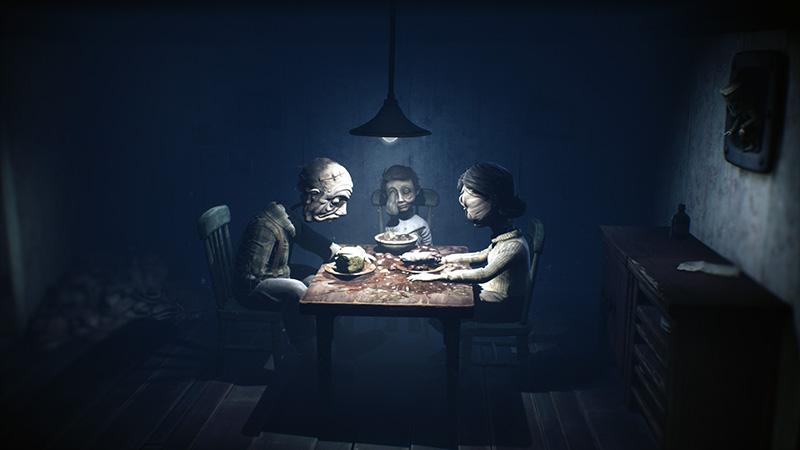 Little Nightmares II familia