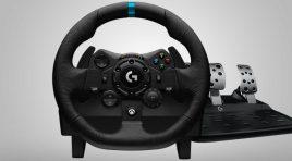 Logitech G923: el nuevo volante para Xbox Series X y PlayStation 5