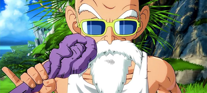 Maestro Roshi Dragon Ball FighterZ