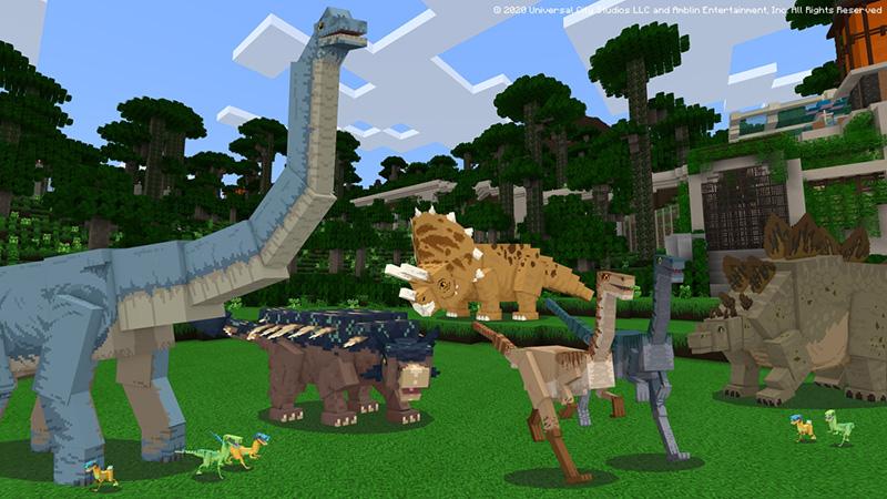 Las aventuras de Jurassic World ahora disponibles en Minecraft