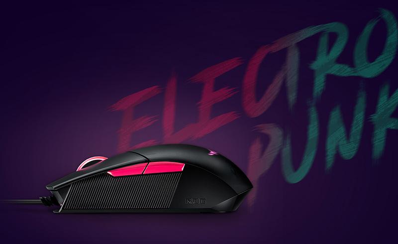 Mouse Gaming ROG Strix Impact II Electro Punk