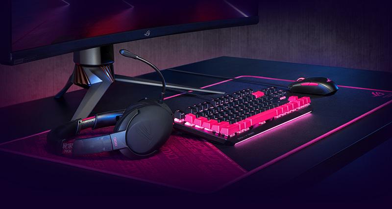 MousePad Gaming ROG Sheath Electro Punk