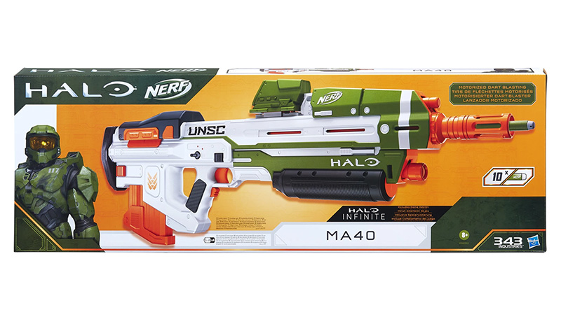 Nerf Halo MA40 caja