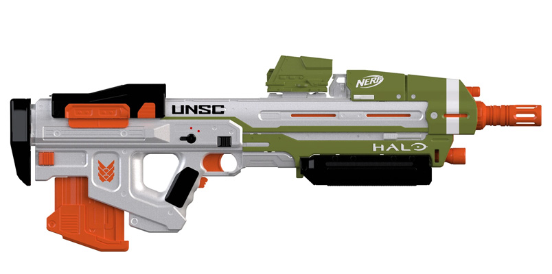 La Nerf Halo MA40 de Halo Infinite ya tiene precio en México