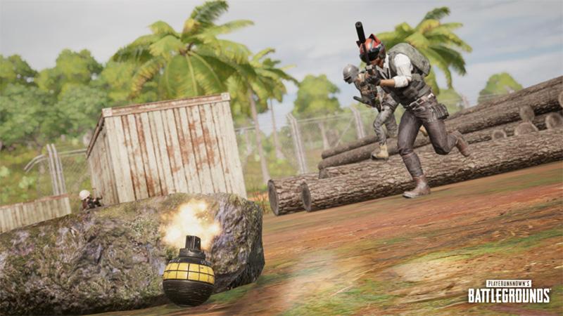 PUBG granada de distraccion