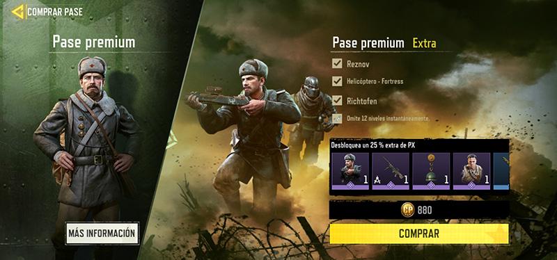 Pase Premium Extra Temporada 9 Conquista