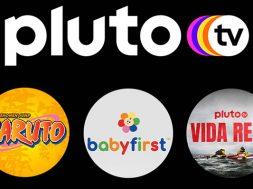 Pluto TV nuevos canales agosto Naruto