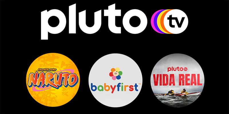 El canal de Naruto y cinco más están llegando a Pluto TV