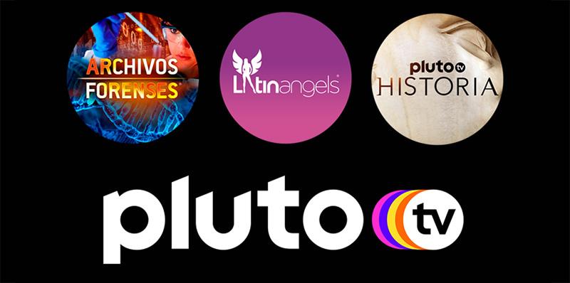 Pluto TV nuevos canales agosto