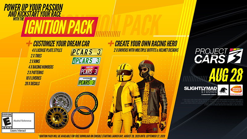 Project CARS 3 The Ignition Pack
